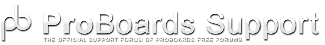 ProBoards Support
